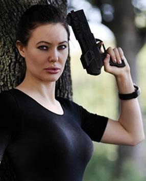 DLE Lara Croft Lookalike