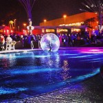 The DLE Las Vegas Cirque Troup 13 water sphere bubbles