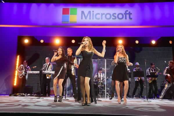 gm show band microsoft corporate event
