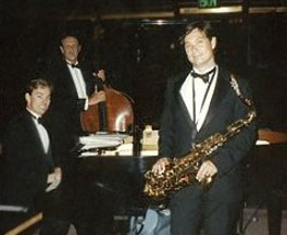 david levin jazz trio posing