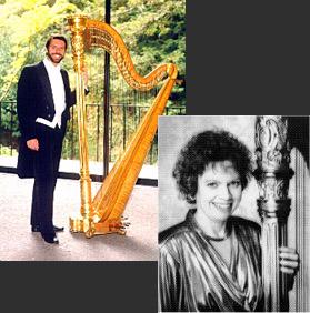concert harpists promo