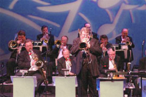 trombone solo during david levin big band set