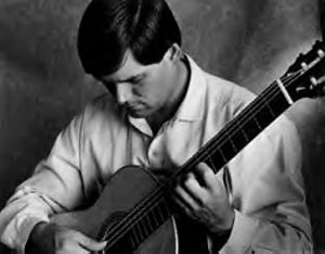 modern classical concert guitarist
